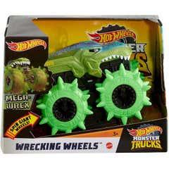 Hot Wheels Monster Trucks 1:43 Wrecking Wheels 1005GCG01 Verde
