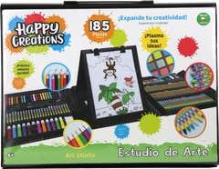 Happy Creations 20911 Estudio De Arte 185 Piezas Juguetron