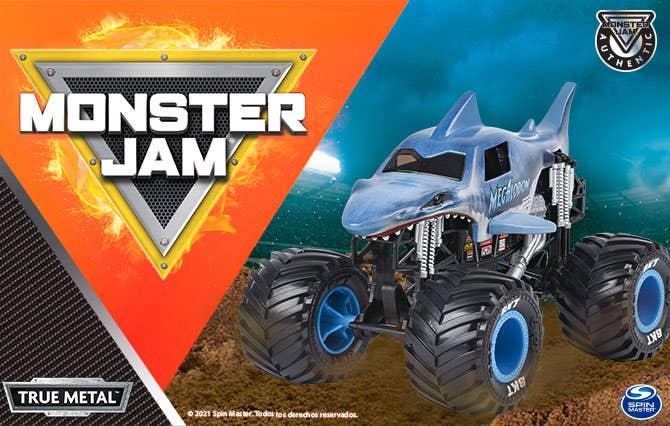 Bienvenido a la Tienda Oficial Spin Master en Juguetron, diviértete como nunca con los increíbles vehículos de Monster Jam que tenemos para ti y pasa horas de entretenimiento inigualables.