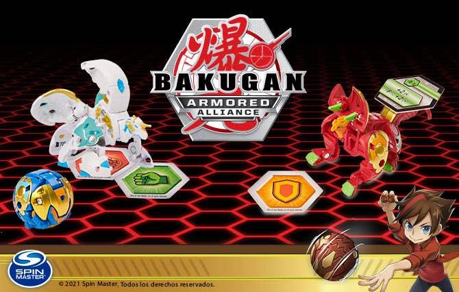 Bienvenido a la Tienda Oficial Spin Master en Juguetron, diviértete como nunca con Bakugan y pasa horas de entretenimiento inigualables.