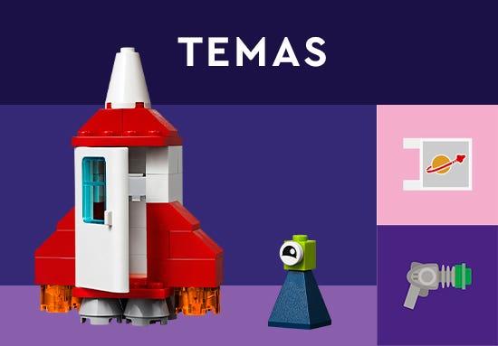 Bienvenido a la Tienda Oficial LEGO en Juguetron, diviértete como nunca con los Temas LEGO. Construye y colecciona tus set favoritos y pasa horas de entretenimiento inigualables con tus creaciones.