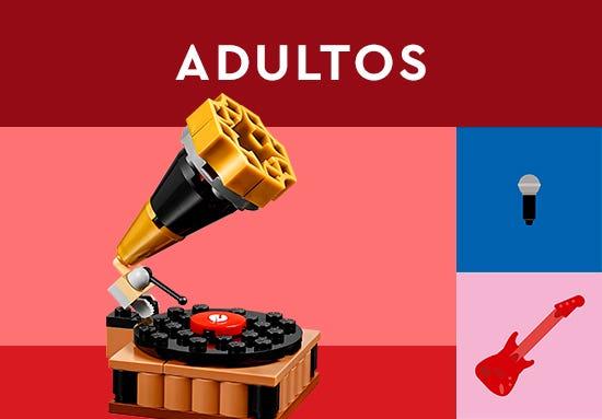Bienvenido a la Tienda Oficial LEGO en Juguetron, diviértete como nunca con los set de LEGO Adultos. Encuentra el set ideal para iniciar tu colección y pasa horas de entretenimiento inigualables con tus creaciones.