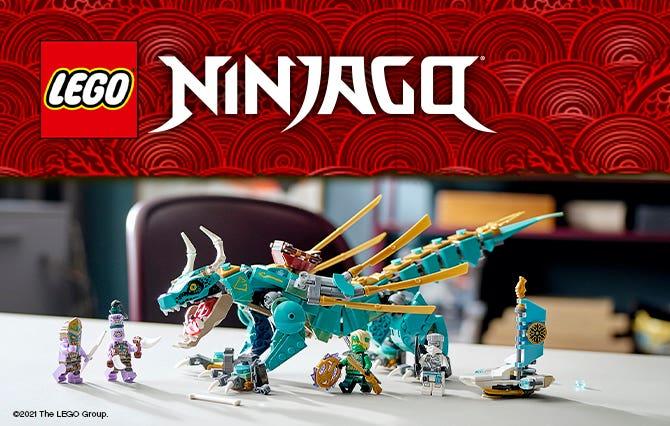 LEGO NINJAGO es un emocionante mundo de ninjas que combaten el mal. Los niños disfrutarán recreando emocionantes aventuras diferentes.